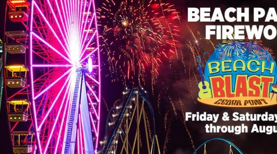 """Cedar Point to Celebrate """"Summer of Fun"""" with 2 NEW NIGHTTIME EVENTS, Extended Park Hours, & Fireworks Displays!"""