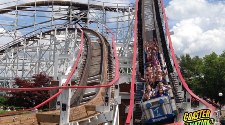 Thunderbolt Declared Kennywood's Third Landmark Coaster