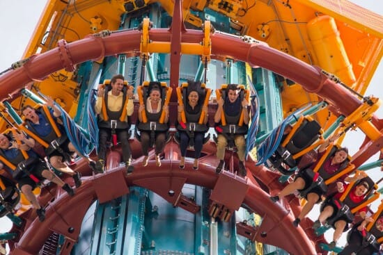Falcon's Fury Opens at Busch Gardens Tampa