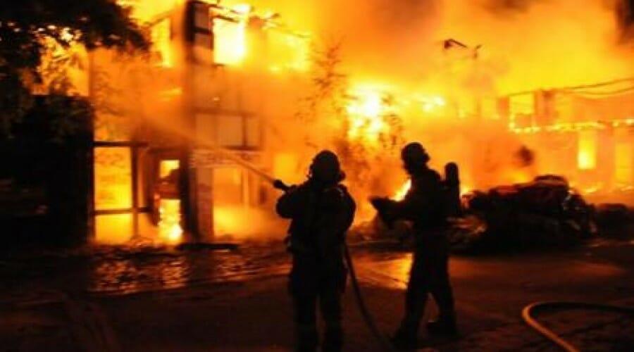 Abandoned Amusement Park Has Burned Down