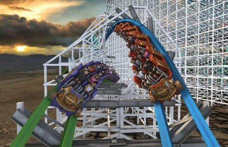 Wood Meets Steel As An Iconic Woodie Gets Twisted At Six Flags Magic Mountain