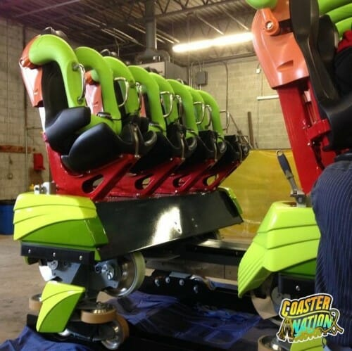 First Look at Cedar Point's Rougarou Trains + NEW PARK CHANGES For 2015!
