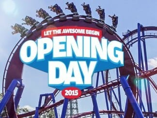 Kings Island opens for the parks 44th season this Saturday!