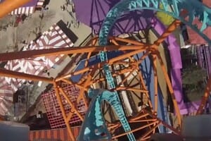 Take A Real Front Seat POV Ride On The New Roller Coaster At Busch Gardens VA!