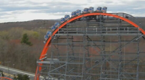 Wicked Cyclone Completes First Test Run at Six Flags New England