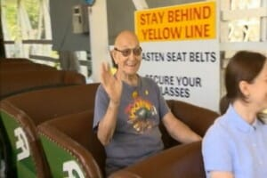 82 yr old Kennywood Fanatic Rides Jack Rabbit 95 Times in a Row