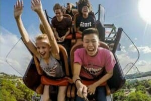 GoPro Roller Coaster Selfie Stick Photo Goes Viral – Banned