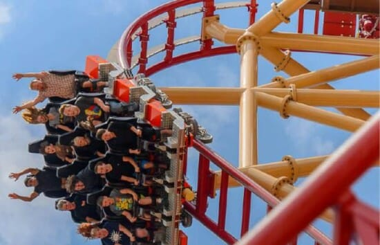 Lagoon Opens The New Cannibal Roller Coaster – video