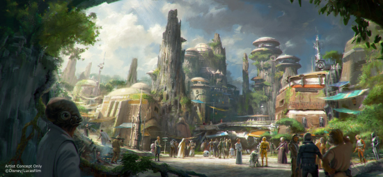 Star Wars Land Coming Soon to Disney Parks!