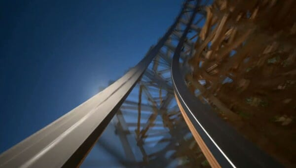 Take A POV Ride On Lightning Rod! Dollywood's 2016 Coaster