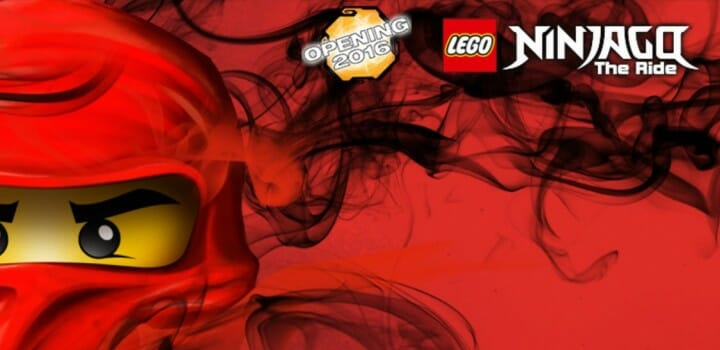 LEGOLAND NINJAGO The Ride Opening 2016!