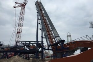 New Roller Coaster at Cedar Point To Break 10 World Records – Valravn Construction Update: