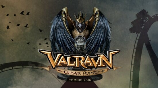 Countdown to Cedar Point's Valravn Dive Coaster Is On!