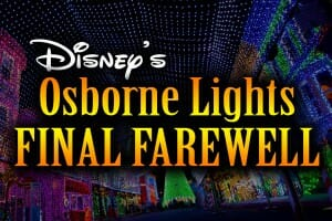 Emotional Ending To Disney's Osborne Family Spectacle of Dancing Lights' Final Farewell