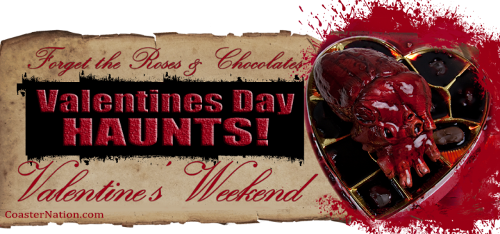 List Of Haunted Houses Open For Valentines Day 2016