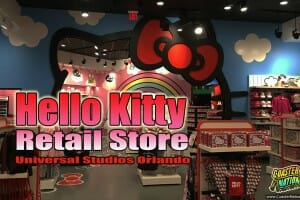 Hello Kitty Store Now Open at Universal Studios Orlando