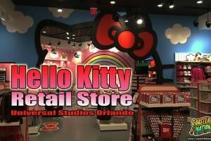 Hello Kitty Store Now Open at Universal Studios Orlando