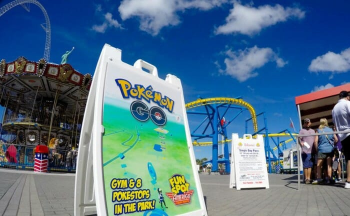 Tips for Playing Pokémon Go at Theme Parks