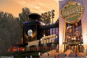 Toothsome Chocolate Emporium Grand Opening At Universal CityWalk