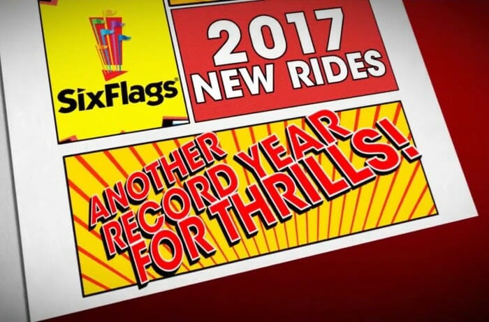 Six Flags Announces New Attractions At Every Park In 2017