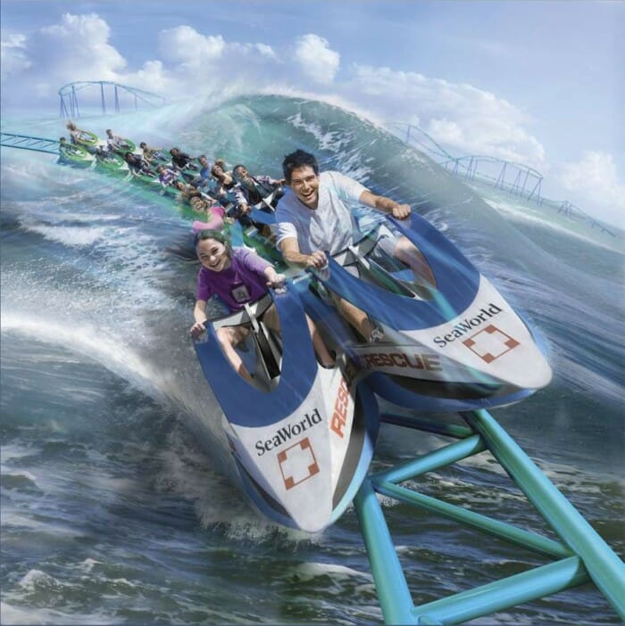 SeaWorld San Antonio Announces Wave Breaker: The Rescue Coaster