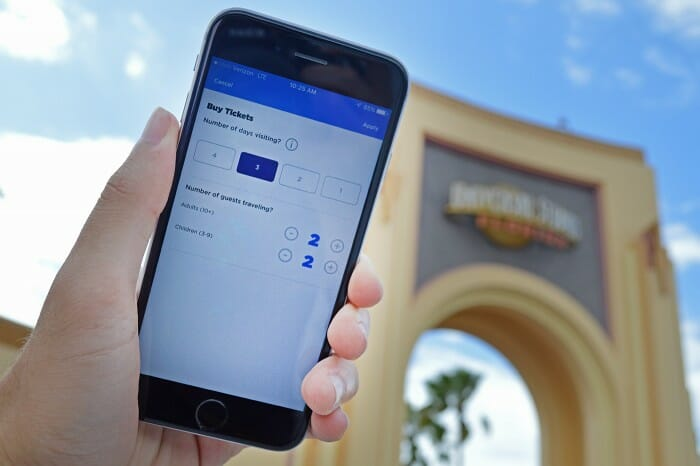Universal Orlando Adds New Ticket Entry Feature to Mobile App