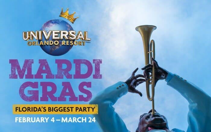 Universal Orlando Announces 2017 Mardi Gras Dates