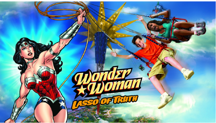 Six Flags America Unveils Wonder Woman: Lasso of Truth Ride for 2017