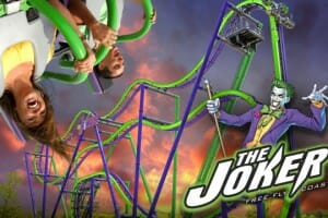 Six Flags Great America Announces New Joker Roller Coaster For 2017