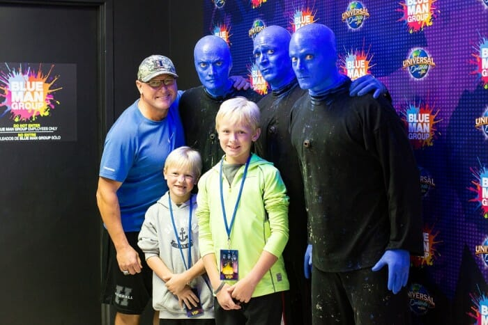 Blue Man Group at Universal Orlando Offers New VIP Experience