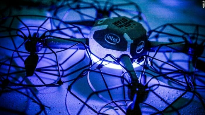Disney World's First Drone Show To Debut For The Holidays At Disney Springs