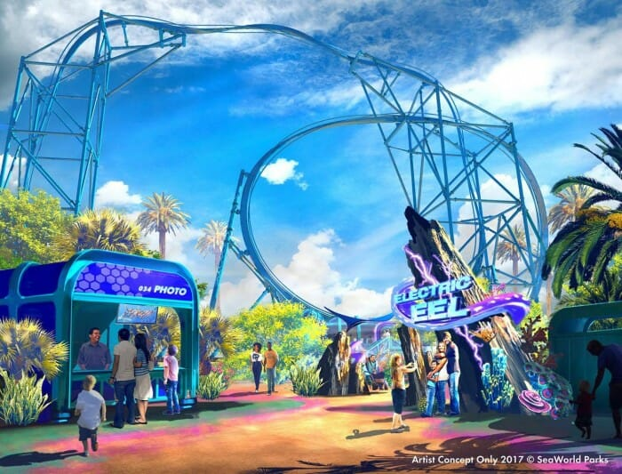 Fun Card Grants Access To New Roller Coaster At SeaWorld San Diego