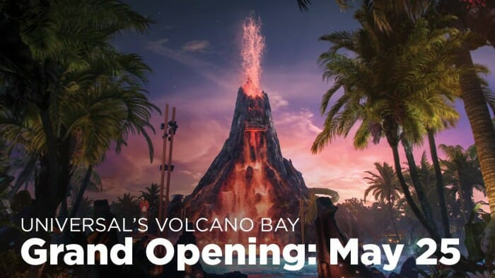 Universal Announces Volcano Bay Opening Day