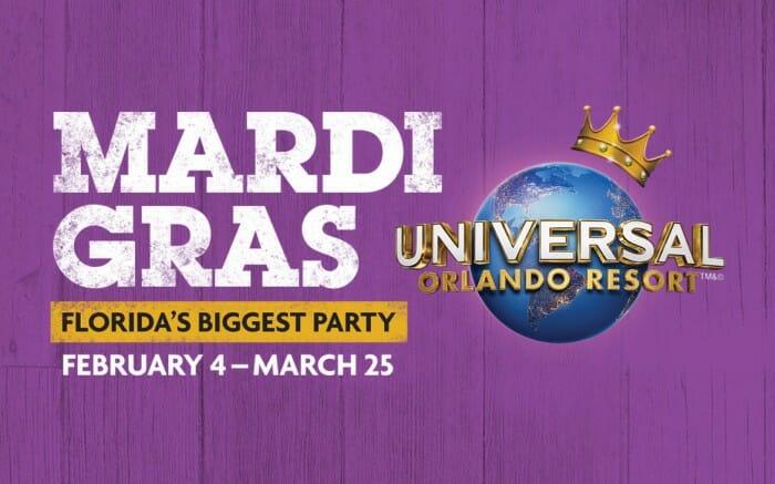 Universal Orlando Announces 2017 Mardi Gras Concert Lineup