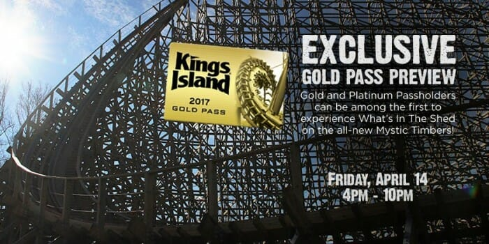 Kings Island Announces Exclusive Season Passholder Preview Day