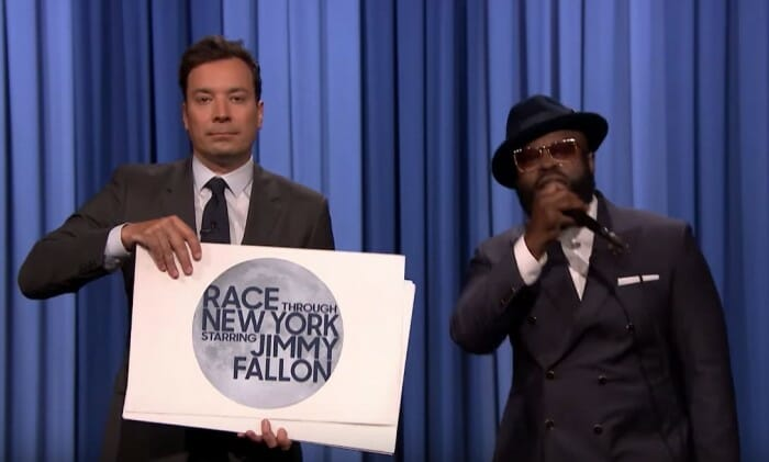 The Roots Rap For New Jimmy Fallon Ride Pre-Show Video