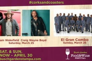 Craig Wayne Boyd, Adam Wakefield, and El Gran Combo to Appear at Food and Wine this Weekend