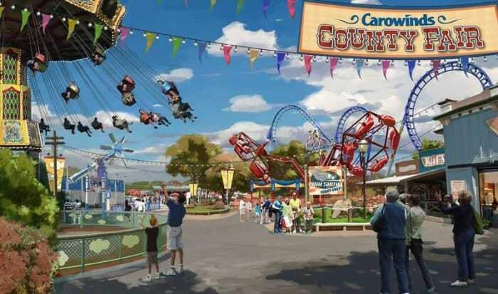 New County Fair Opens At Carowinds This Weekend
