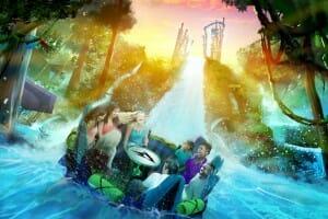 SeaWorld Orlando Announces New Infinity Falls River Rapid Ride