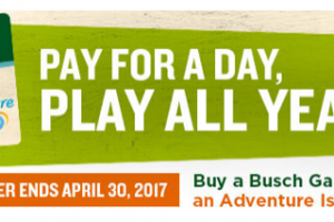 Last Chance to Purchase BOGO Fun Card at Busch Gardens Tampa