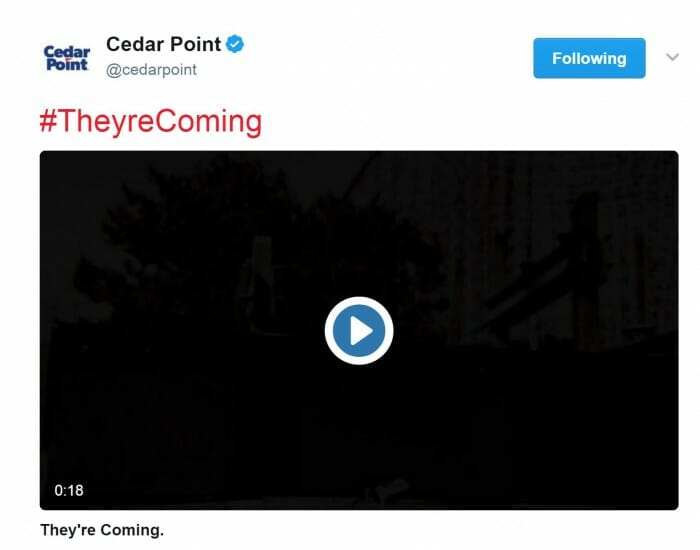 Cedar Point Releases New Meanstreak Teaser
