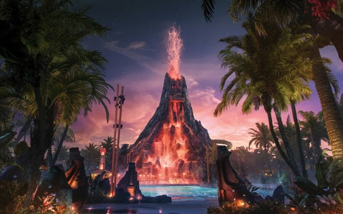 The Story Behind Universal's Volcano Bay