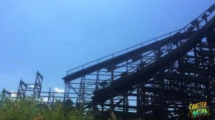 NEW VIDEO: RMC HURLER Construction Update at Kings Dominion