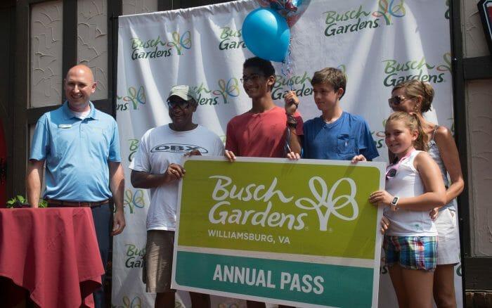 Busch Gardens Williamsburg Welcomes 100 Millionth Guest