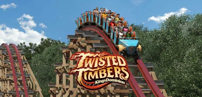 New Twisted Timbers Roller Coaster And WinterFest Coming To Kings Dominion
