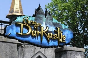 Busch Gardens Williamsburg Closes Curse of DarKastle Ride Forever