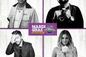 Grammy Award-Winning Artists Headline Mardi Gras Concert Series At Universal Orlando