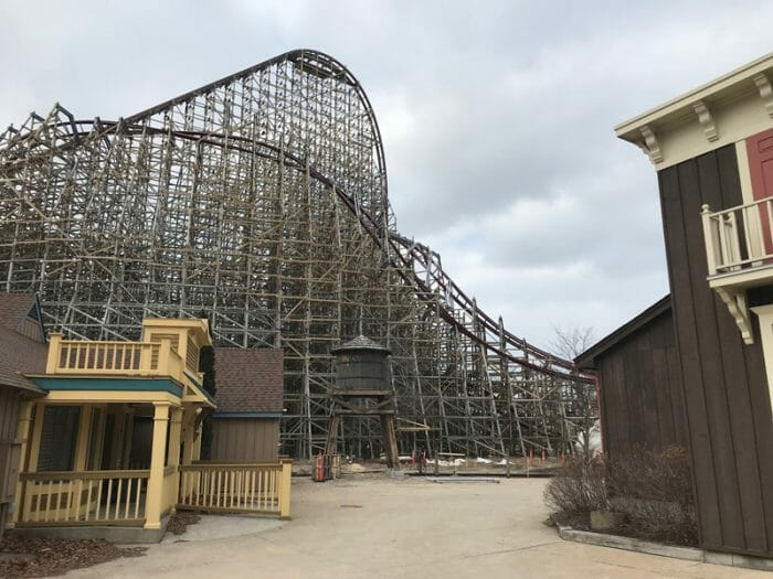Steel Vengeance Construction Update At Cedar Point