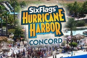 Waterworld Concord to Become Six Flags Hurricane Harbor Concord