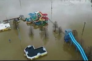 Video: Ohio River Floods Coney Island